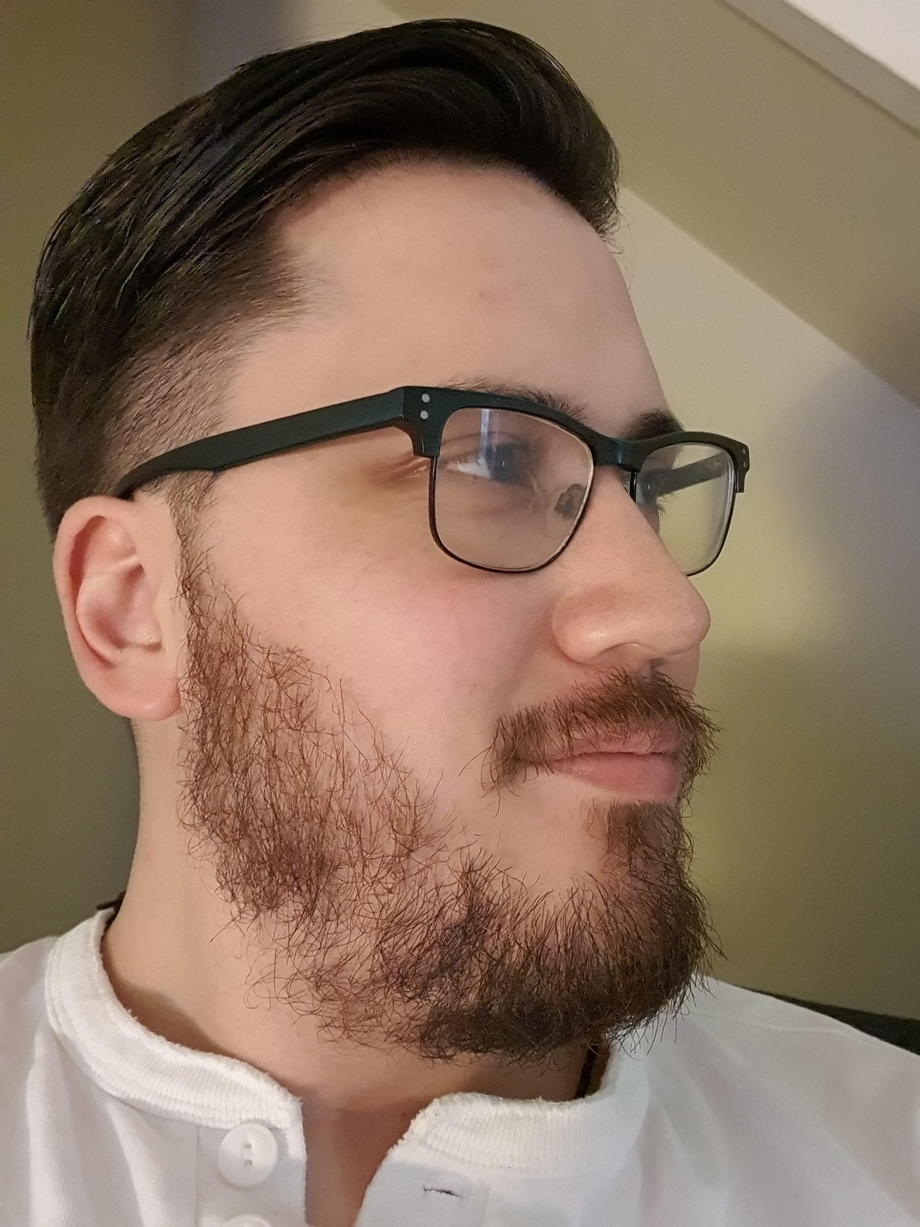 2 months in, it might be patchy but I love how far my beard has come.   Beards  Porn XXX   Hot XXX Gays