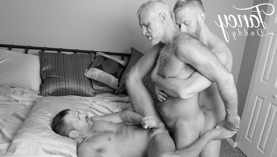 A perfect threesome (from Tumble fancydaddies): Christopher Daniels, Allen Silver and Will Swagger | Daddy/Mature  Porn XXX | Hot XXX Gays