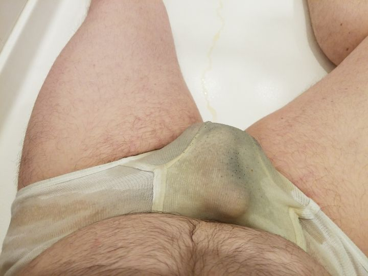 And then I soaked my briefs... | Pissing  Porn XXX | Hot XXX Gays