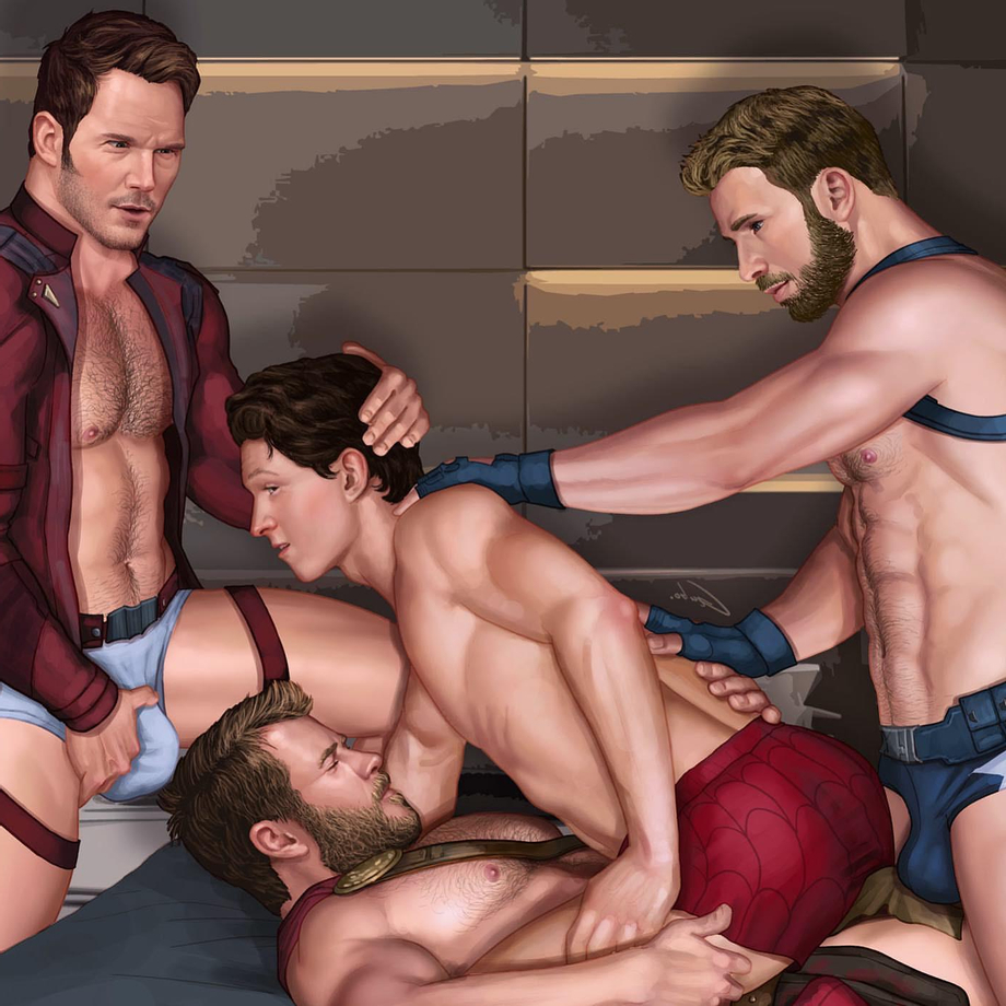 Anyone know the artist? If so, does anyone know if there is a nude version of this? | Gay Hentai  XXX | Hot XXX Gays