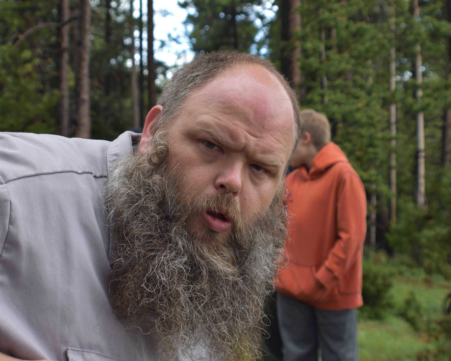 Camping in Yellowstone and I got a pic of a Stachesquatch. | Beards  Porn XXX | Hot XXX Gays