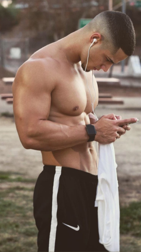 Checking out his running playlist | Hot Boys  Porn XXX | Hot XXX Gays