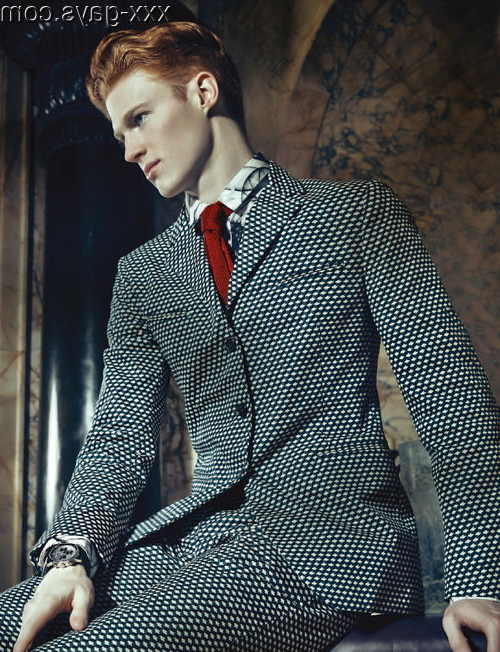 Dapper ginger with red accents   Gingers  Porn XXX   Hot XXX Gays
