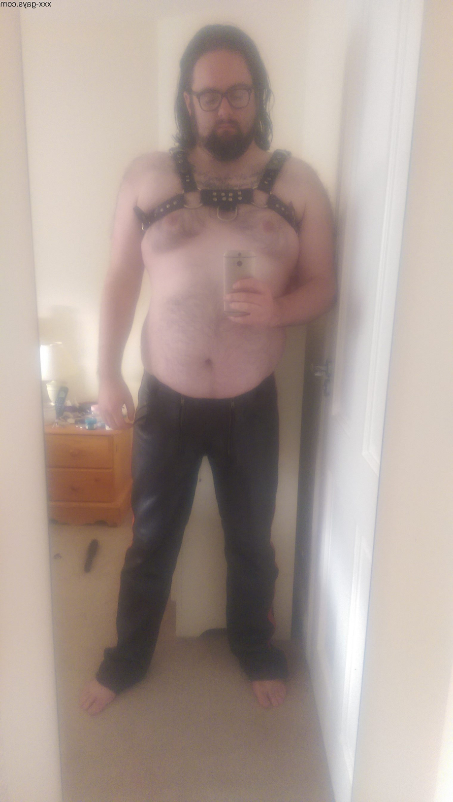 Finally got my hands on some gear of my own.   Leather/Rubber  Porn XXX   Hot XXX Gays
