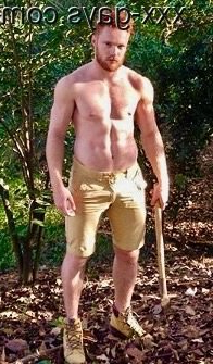 Ginger ready to chop some wood   Gingers  Porn XXX   Hot XXX Gays