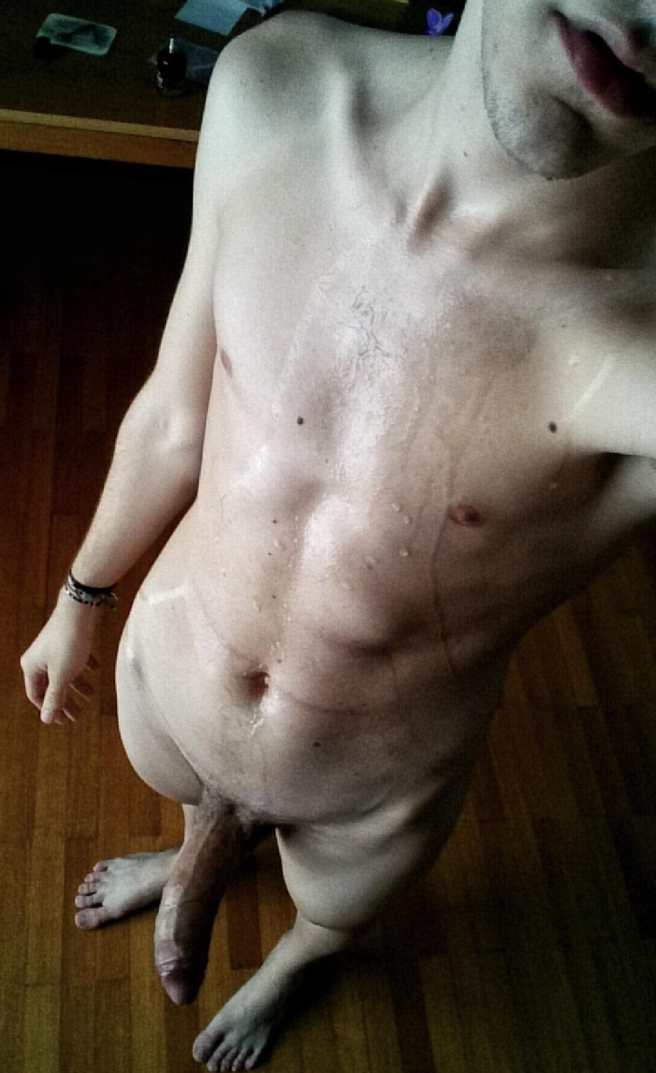 He needs a hand cleaning up that mess. | Hardcore  Porn XXX | Hot XXX Gays