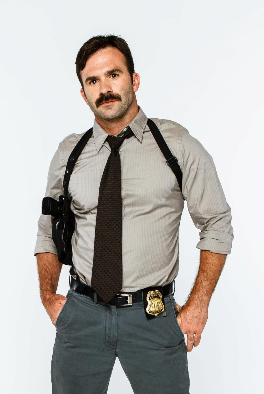 Hello daddy.. (detective winters / where the bears are / chad sanders)   Uniforms  Porn XXX   Hot XXX Gays