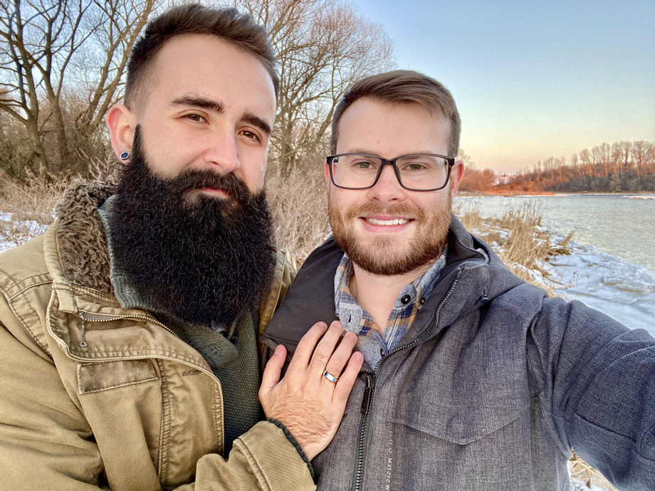 I was told I should share this here too, we just got engaged! | Beards  Porn XXX | Hot XXX Gays