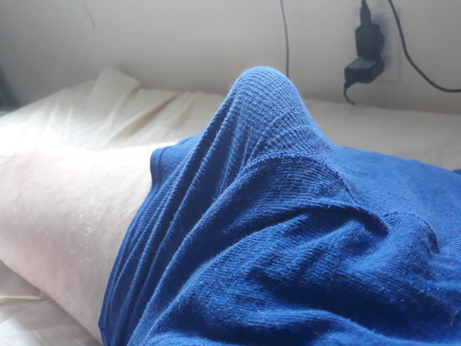 Its difficult to just lay down without strain from my cock these days | Bulges  Porn XXX | Hot XXX Gays