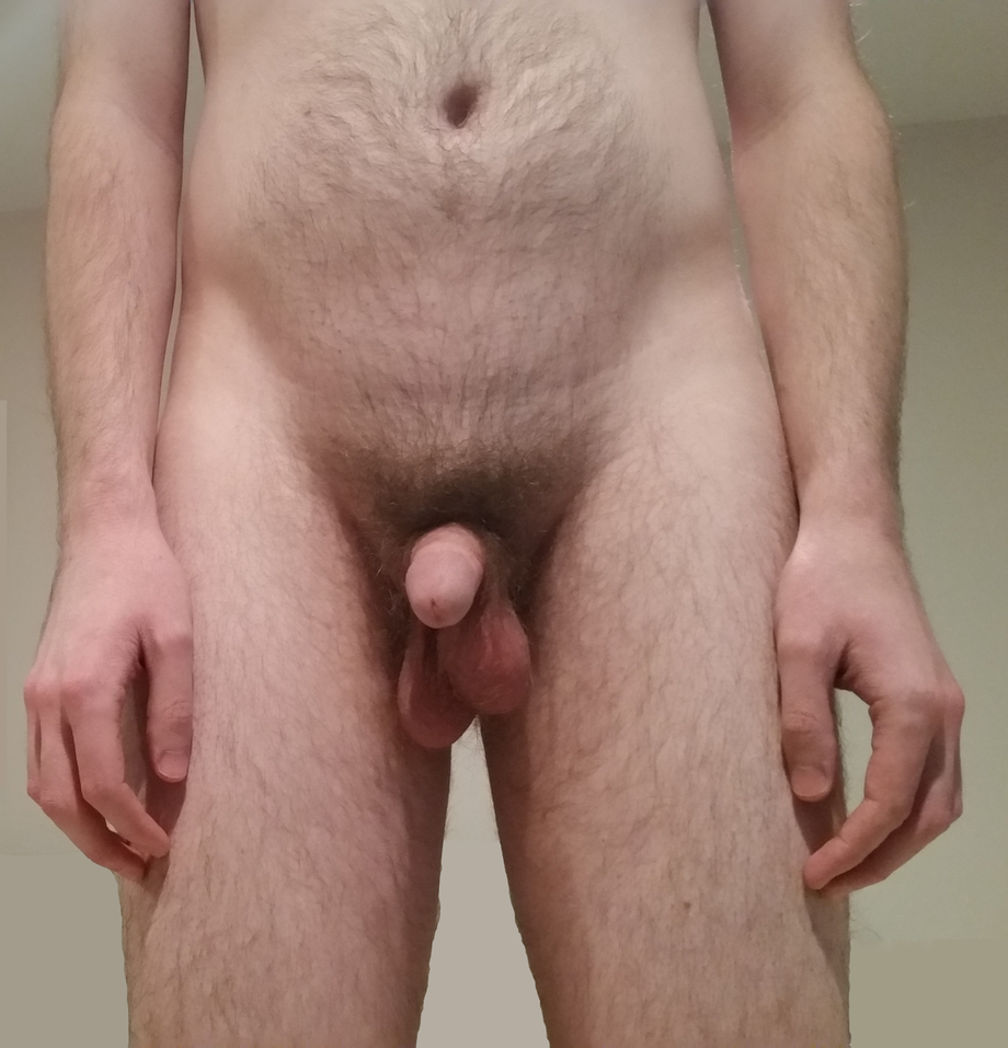 It\'s difficult to stay soft while taking nudes, but I finally got a pic with my balls hanging low. PMs welcome. | Balls  Porn XXX | Hot XXX Gays