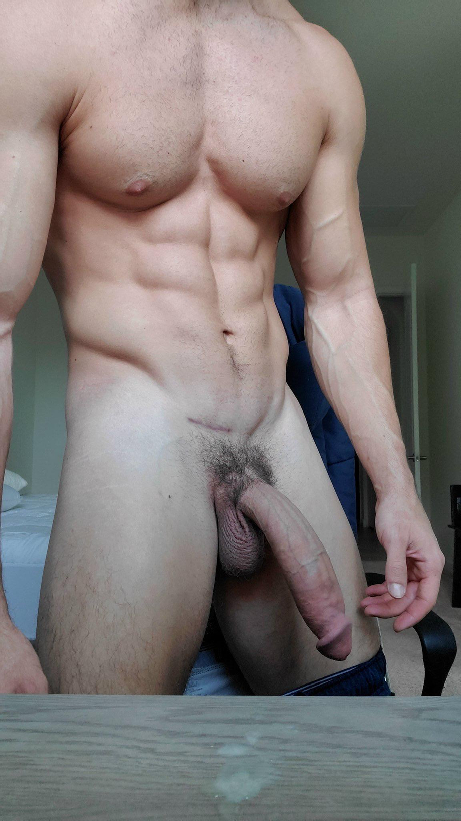 Jake Orion sexy body and warm cum on the table. | Male Pornstars  Porn XXX | Hot XXX Gays