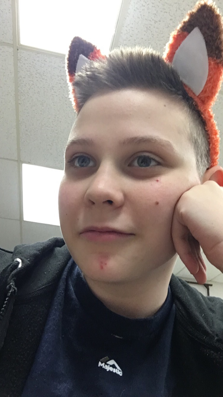 Kind of a bad pic but happy Halloween y'all!! [FtM, 17] | Selfies  Porn XXX | Hot XXX Gays