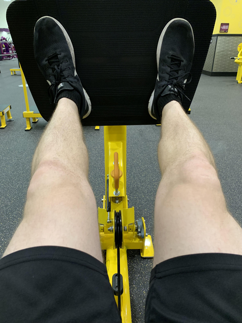Leg day, mid press. Can't wait to be able to get tan again this summer | Legs  Porn XXX | Hot XXX Gays