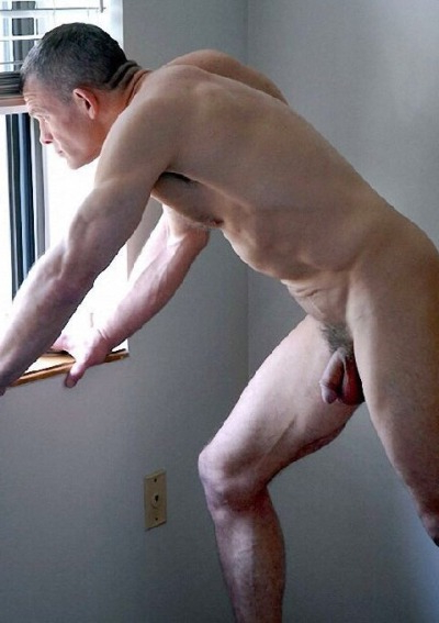 Looking out the window   Daddy/Mature  Porn XXX   Hot XXX Gays