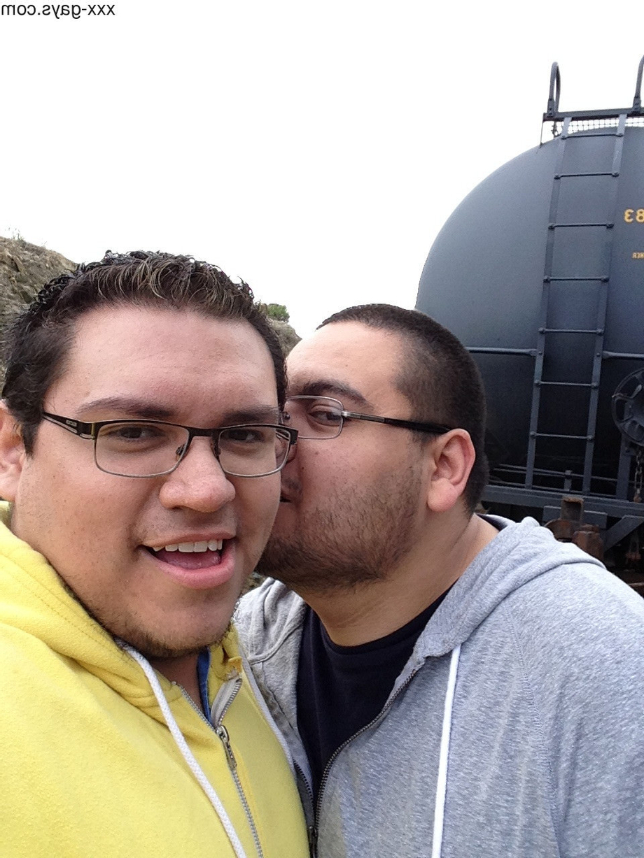 Me(left) and my boyfriend(right) taking a hike around the shore line/train tracks. | Gay Couples  Porn XXX | Hot XXX Gays