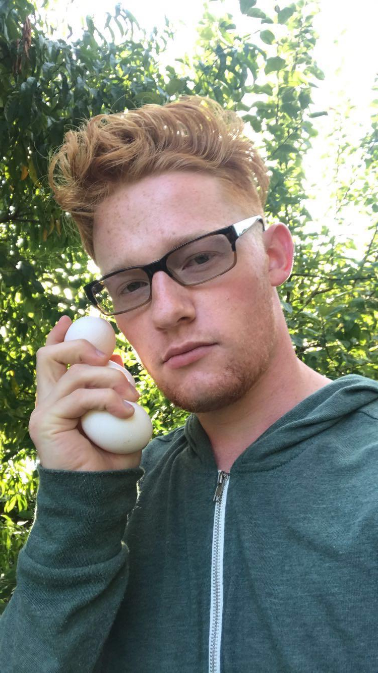 My chickens laid their first eggs | Gingers  Porn XXX | Hot XXX Gays