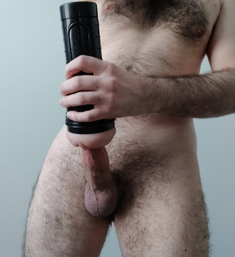 My cock was so hard that I just needed to tame it with my Fleshlight | Toys  Porn XXX | Hot XXX Gays
