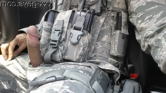 Not his only weapon...   Uniforms  Porn XXX   Hot XXX Gays