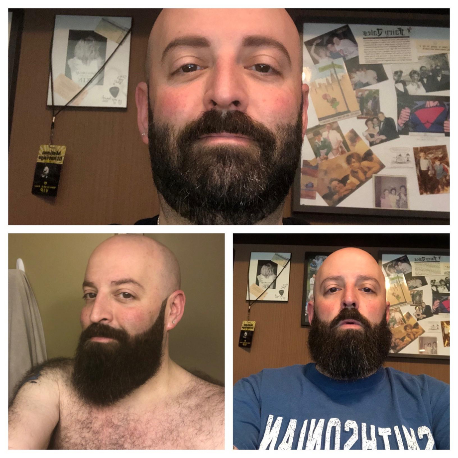 Now (top) and then....time to start my yeard! | Beards  Porn XXX | Hot XXX Gays