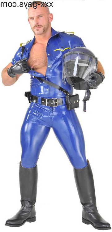 Stop in the name of the law   Leather/Rubber  Porn XXX   Hot XXX Gays