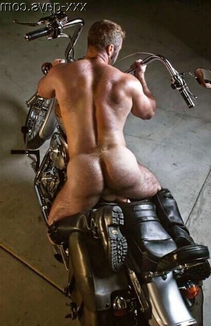 Straddling his motorcycle | Daddy/Mature  Porn XXX | Hot XXX Gays