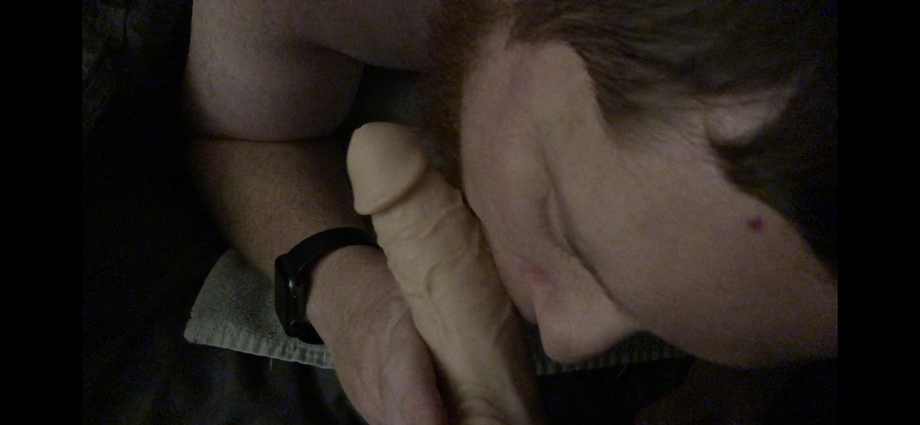 Sucking my wife's strap on veiny cock before she spread my cheeks open and fucked my tight asshole until I made a mess of myself ???????? | Bisexual  Porn XXX | Hot XXX Gays