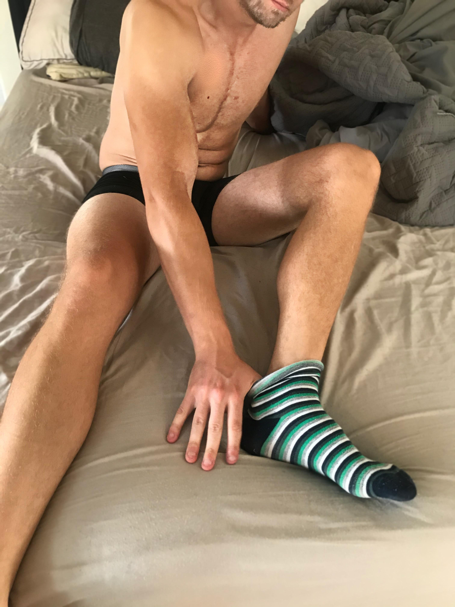 take these socks off and get to work   Gay Feet Worship  Porn XXX   Hot XXX Gays