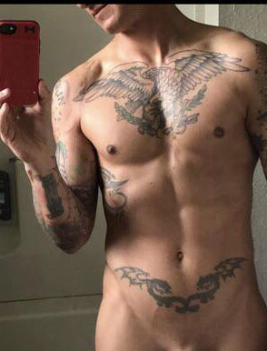 The uncropped version available through dm. | Tattooed  Porn XXX | Hot XXX Gays