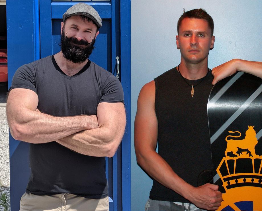 This is what 10 years and a BEARD does to you.   Beards  Porn XXX   Hot XXX Gays