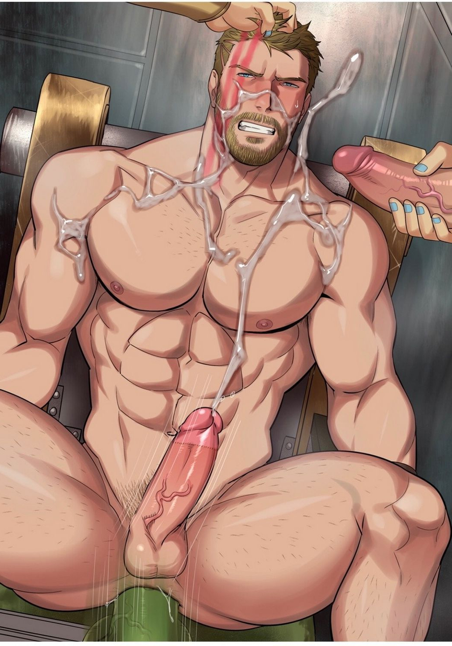 Thor and his Avengers    Gay Hentai  XXX   Hot XXX Gays