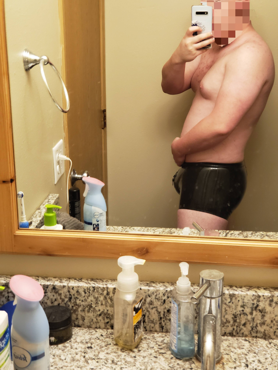 What would you do with me and my bulge? ????????   Leather/Rubber  Porn XXX   Hot XXX Gays