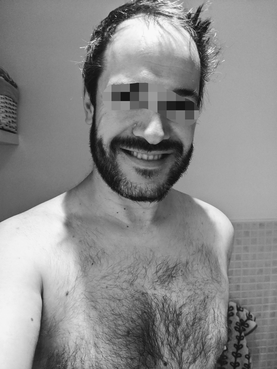 Working from home has the benefit of not having to worry about bed hair...   Beards  Porn XXX   Hot XXX Gays