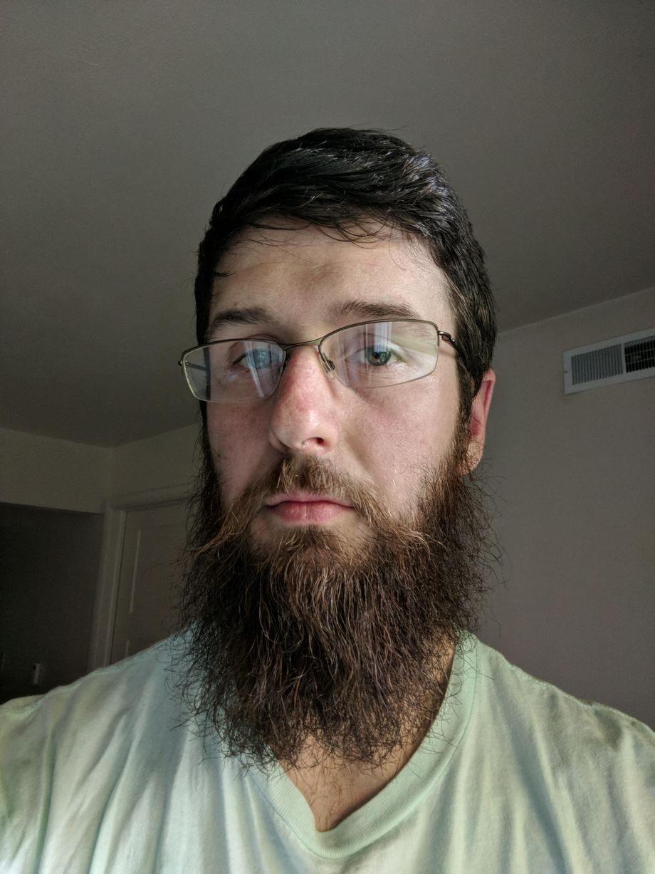 Yeard in progress (6mo since last trim)... Resistance from the boss. How does everyone handle their SO\'s opinion of their beard?   Beards  Porn XXX   Hot XXX Gays