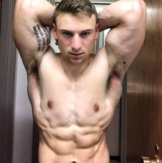 Young and strong guy showing his pits   Armpits  Porn XXX   Hot XXX Gays